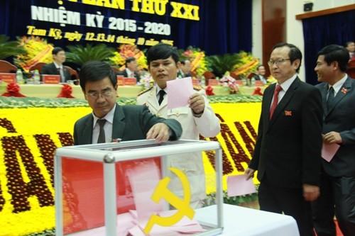 Quảng Nam: 56 người vào ban chấp hành khóa mới nhiệm kỳ 2015-2020