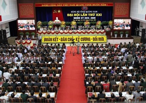 Quảng Nam: Những ai được bầu đi dự Đại hội Đảng toàn quốc lần thứ XII