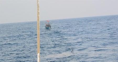 Cứu hộ thành công bảy ngư dân gặp nạn trên biển