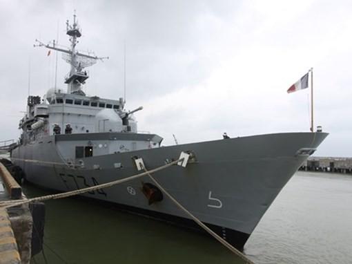 Đà Nẵng: Hải quân Pháp và Việt Nam sẽ tham gia huấn luyện chung