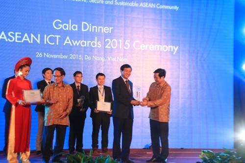 Đà Nẵng đoạt giải nhất về công nghệ thông tin ASEAN 2015
