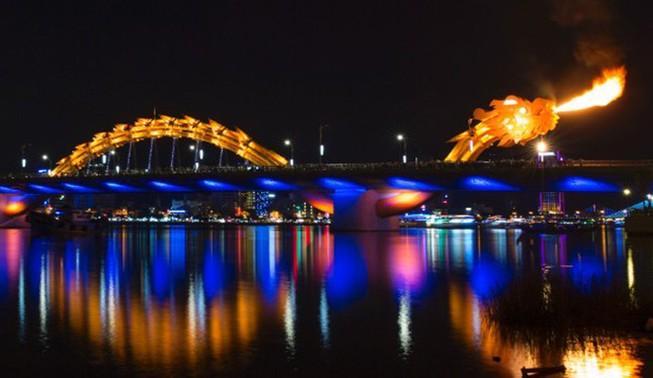 Đà Nẵng: Cầu Rồng sẽ phun nước và lửa theo nhạc điệu