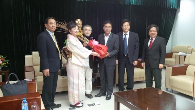 Nhật Bản tặng 100 cây hoa anh đào cho Đà Nẵng