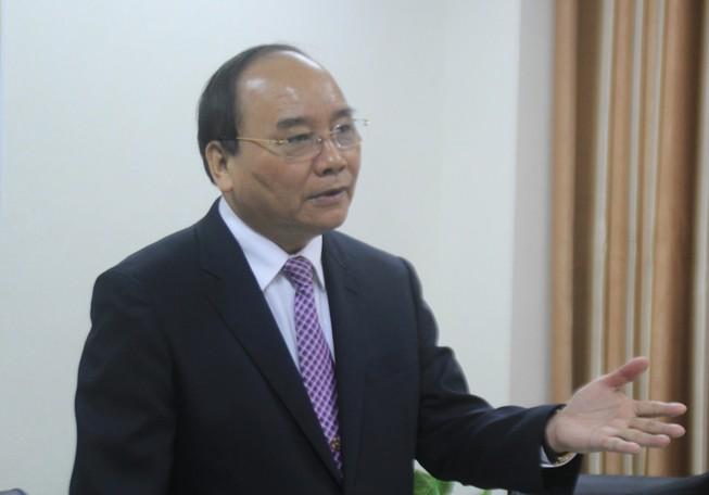 Phó Thủ tướng Nguyễn Xuân Phúc: 'Có bột mới gột nên hồ'