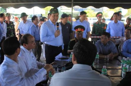 Vụ chìm tàu Thảo Vân: Chủ tịch TP Đà Nẵng gửi thư cám ơn người dân