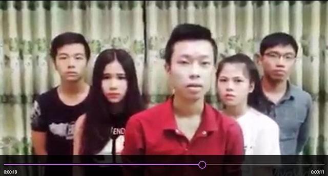 Nhóm bạn trẻ làm clip chế kỳ thi THPT quốc gia lên tiếng xin lỗi