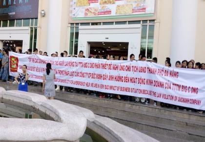 Vụ Big C Đà Nẵng: Công ty Đức Mạnh không tham dự giải quyết mâu thuẫn
