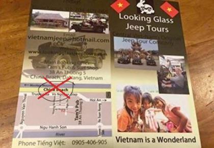 Đà Nẵng tịch thu poster xuyên tạc biển Đông thành biển Trung Quốc