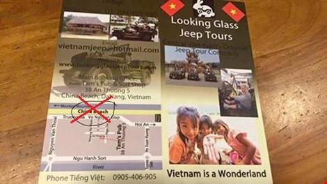 Công ty xuyên tạc biển Việt Nam thành biển Trung Quốc đặt website ở nước ngoài