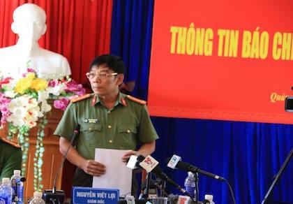 Quảng Nam: Họp báo công bố bắt giữ nhiều đối tượng phá rừng pơ mu
