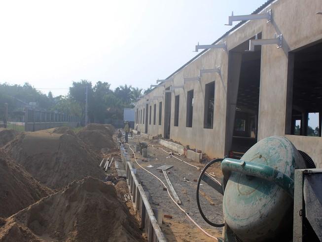 Nhà máy trái phép buộc phải dừng ngay việc xây dựng