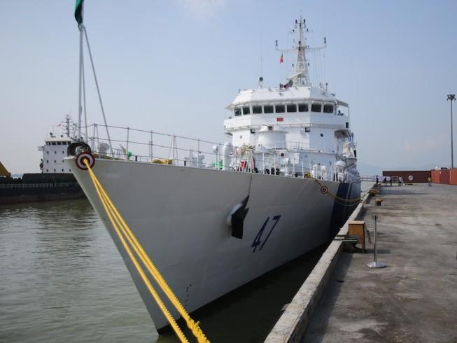 Tàu cảnh sát biển hiện đại của Ấn Độ tới Đà Nẵng