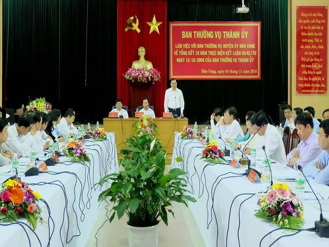 Đà Nẵng đề nghị Thủ tướng cho điều chỉnh lại quy hoạch