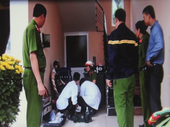 Một cán bộ quân sự bị bỏng nặng vì điện cao thế giật