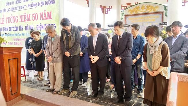 Người Hàn Quốc cúi đầu tạ lỗi vụ thảm sát Hà My