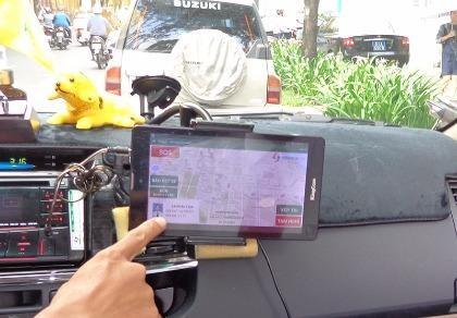 Vinasun đưa giao dịch điện tử lên xe chạy hợp đồng