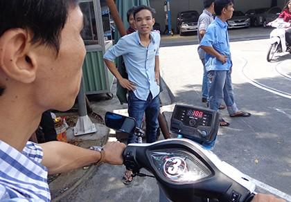 Hơn 20% thí sinh thi... rớt bằng lái xe máy