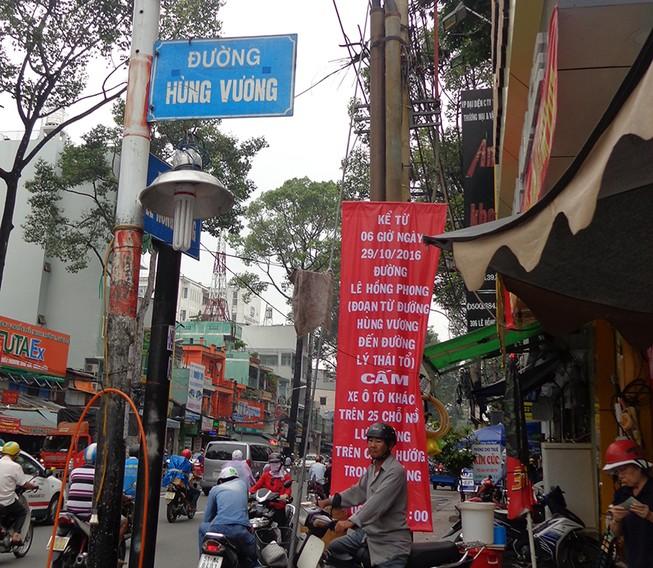 'Cấm đường không nhằm 'triệt' hãng xe Thành Bưởi'