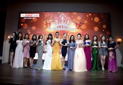 Sắp diễn ra cuộc thi Hoa hậu Doanh nhân Thế giới người Việt 2016