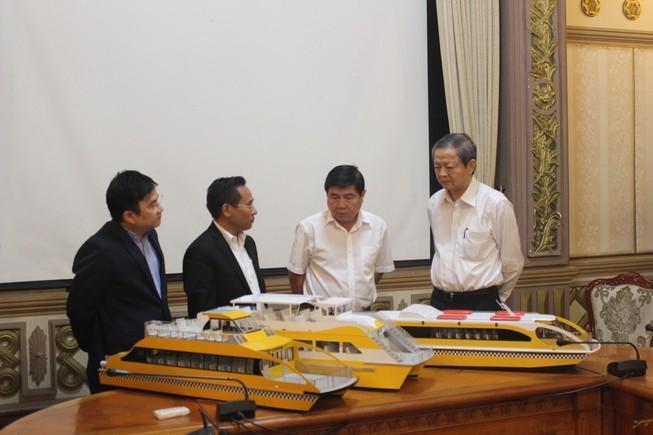 Tháng 6, Sài Gòn có buýt đường sông