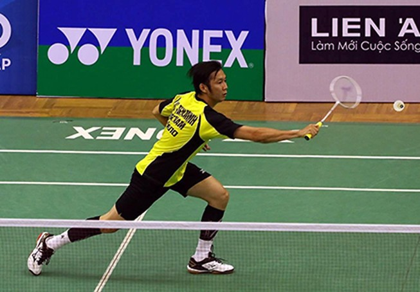 Tiến Minh tranh suất đi tiếp với nhà vô địch Olympic Lin Dan