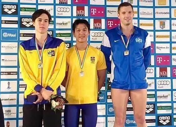 Hoàng Quý Phước đoạt HCB giải VĐQG Hungary