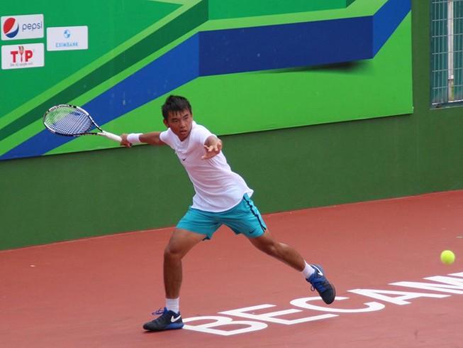 Lý Hoàng Nam hạ gục nhanh tay vợt Trung Quốc