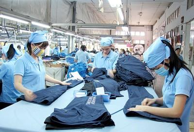 Lao động dệt may có thu nhập bình quân 6 triệu đồng/tháng