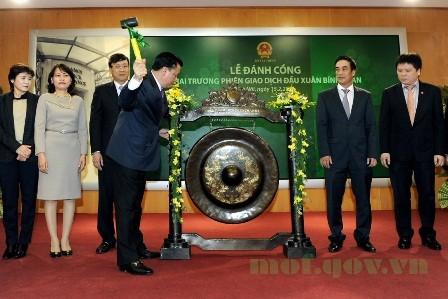 Đưa chứng khoán Việt Nam thành thị trường mới nổi
