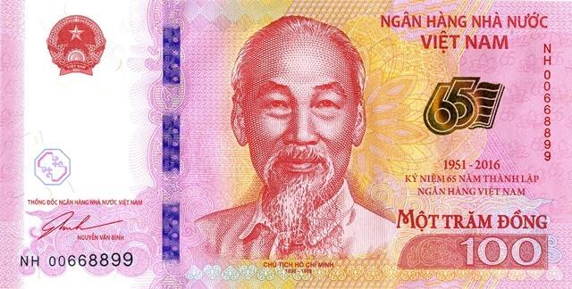 Ngân hàng Nhà nước phát hành tiền lưu niệm mệnh giá 100 đồng