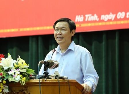Phó Thủ tướng Vương Đình Huệ và phu nhân cùng ứng cử ĐBQH