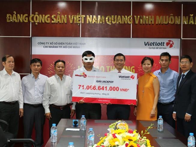 Người trúng số 71 tỉ đồng quê ở Quảng Ngãi