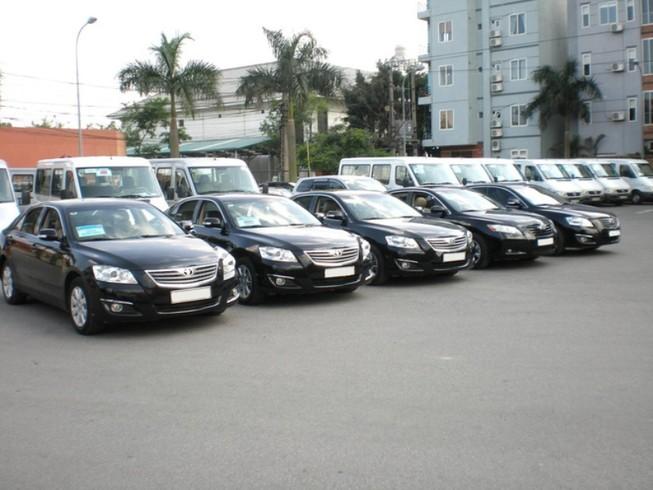 Bộ Tài chính yêu cầu rà soát thanh lý ô tô công