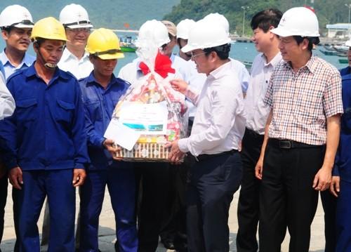 Điện quốc gia về Cù lao Chàm