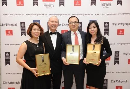 Vingroup đồng loạt đạt 3 giải nhất về bất động sản