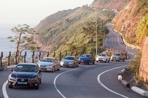 Doanh số bán xe Lexus tăng 69%