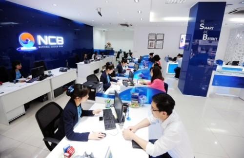 NCB phục vụ khách hàng giao dịch không nghỉ trưa