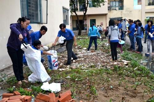 Tự hình thành thói quen bỏ rác đúng chỗ