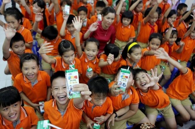 Đà Nẵng chung tay cùng Sữa học đường