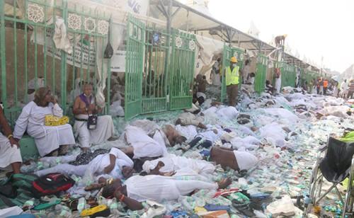 Số người chết vụ giẫm đạp Mecca là 1.100 người