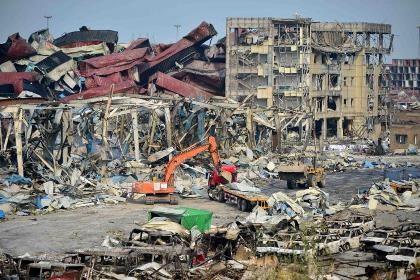 Trung Quốc lại rung chuyển vì nổ hóa chất