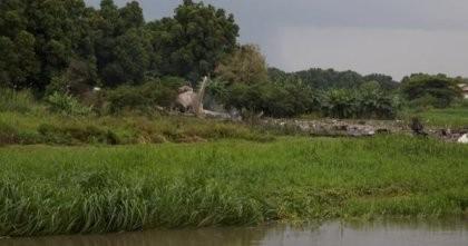 Tin nóng: Rơi máy bay Nga ở Nam Sudan, 40 người chết