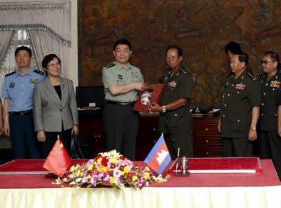 Trung Quốc cung cấp tên lửa phòng không vác vai cho Campuchia