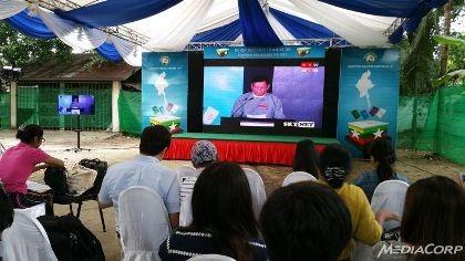 Đảng của Aung San Suu Kyi thắng đậm trong đợt công bố thứ nhất