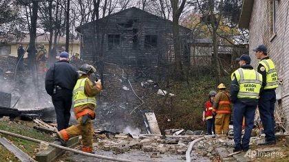 Máy bay đâm vào khu dân cư, chín người  thiệt mạng