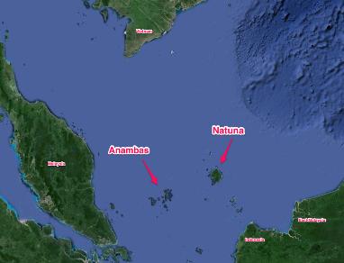 Trung Quốc không phản đối chủ quyền quần đảo Natuna của Indonesia