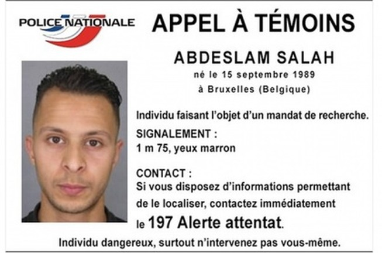 Khủng bố Paris: Nghi phạm 26 tuổi bỏ trốn bị bắt tại Bỉ?