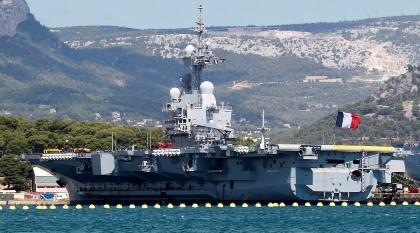 Tàu sân bay Mỹ - Pháp tới Trung Đông phối hợp diệt IS