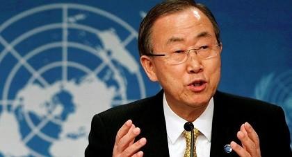 Ông Ban Ki Moon nói biến đổi khí hậu có liên quan tới khủng bố