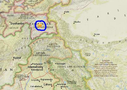 Động đất 7,2 độ Richter rung chuyển Trung Á